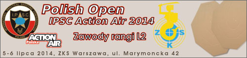 POLISH OPEN IPSC Action Air 2014